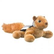 Wildlife Artists Chipmunk Plush Finger Puppet Toy, 7 Play Critters Stuffed Animal