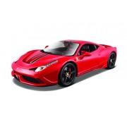 Bburago 1:18 Ferrari 458 Speciale, Multi Color