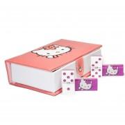 Dominó Hello Kitty, 100% Acrílico. Estuche Tipo Libro