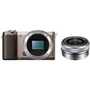 Sony Alpha A5100 barna + 16-50mm objektív