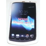 Силиконов гръб ТПУ за Sony Xperia neo L MT25i Бял