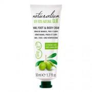 Naturalium Cremă de mâini Îngrijirea, picior și corp cu ulei de măsline (Hand, Foot & Body Cream) de (Hand, Foot & Body Cream) 50 ml