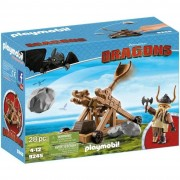 Playmobi dragons skaracchio con catapulta l 9245
