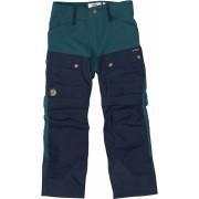 FjallRaven Kids Keb Gaiter Trousers 152 - Glacier Green-Dark Navy - Travel Pants 152