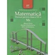 Matematica M1. Manual pentru clasa a XII-a Dinu Serbanescu Marcel Tena Marian Andronache Editura Art