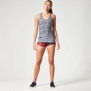Myprotein Women's Performance Slogan Vest - Black - UK 10 - Nero