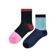 Happy Socks-Sokken-Kajsa Holiday Giftbox-Zwart