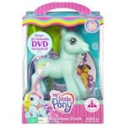 My Little Pony Rainbow Dash Pony Figure With Dvd