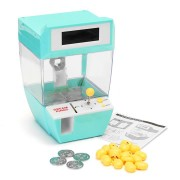Mini Doll Claw Machine Grab Ball Coin Candy Catcher Alarm Clock For Kids Children Party Fun Novelties Toys