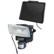 Napelemes LED fénysugárzó SOL 80, IP44 infravörös mozgásérzékelovel 80xLED 200lm Kabel-hossz 4,75m Szinek Fekete