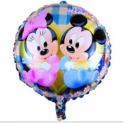 Balon folie metalizata Baby Minnie si Baby Mickey Mouse Domi Party and Gifts Multicolor 43cm