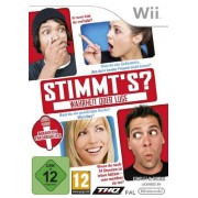 THQ Truth or Lies vídeo Juego (Nintendo Wii, Partido, T (Teen))