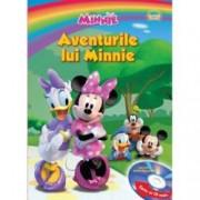 Disney Audiobook. Aventurile lui Minnie Carte + CD