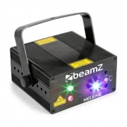 Beamz Helene Láser doble RG Multipunto IRC LED 3W Azul (152.666)