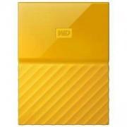 Външен диск HDD 4TB USB 3.0 MyPassport Yellow NEW, WDBYFT0040BYL