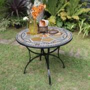 天然石ラウンドテーブル 大テーブル
