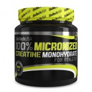 BioTech USA 100% Micronized Creatine Monohydrate por - 500g