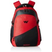 Wiki by Wildcraft Traverse 2.0 Red Laptop Backpacks 27.174104 L Backpack(Multicolor)