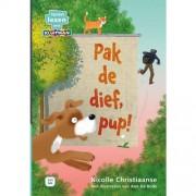 Leren lezen met Kluitman: Pak de dief, pup! - Nicolle Christiaanse
