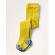 Mini Gelb Rippenstrumpfhose Baby Baby Boden, 80, Yellow