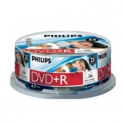 Philips DVD+R Philips 4.7GB 16X Spindle Pack 25 Printable