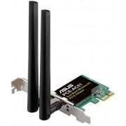 Placa de retea wireless ASUS PCE-AC51, Dual Band, 750 Mbps, PCI-E, 2 Antene externe