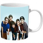 Mooch Wale One Direction Wallpaper Ceramic Mug