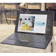 Lenovo Miix 510 4G/3G WiFi 12.2 FullHD IPS i5-6200U up to 2.8GHz, 4GB DDR4, 128GB SSD, 5MP + 2MP cam, Micro SIM, USB 3.0, USB type-C, BT 4.0, Black, Win 10 + detachable keyboard and pen