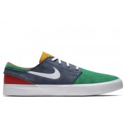 NIKE SB - obuv STR ZOOM JANOSKI RM navy/green Velikost: 9.5