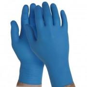 Kesztyű púdermentes nem steril Maxter Nitrile kék L-es