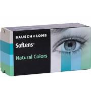SofLens Natural Colors Aquamarine 2 stk