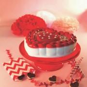 Forma din silicon pentru tort Inima Impletita