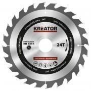 Panza de fierastrau circular de mana 185×2.2x30mm, Kreator KRT020414