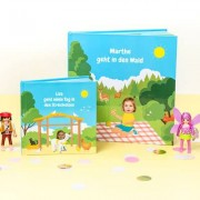 smartphoto Kleines Lesebuch Ausflug für Mädchen - Ausflug zum Strand