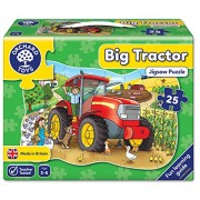 Orchard Toys Big Tractor, Multi Color