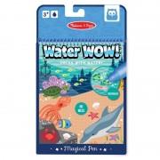 Carte de colorat apă magică, Animale marine