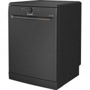 Indesit DFE1B19B Freestanding Dishwasher Black