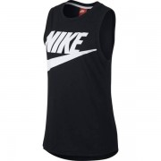 Nike Sportswear Essential Tank W - top fitness - donna - Black