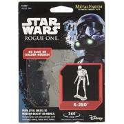 Fascinations Metal Earth Star Wars Rogue One K-2SO 3D Metal Model Kit