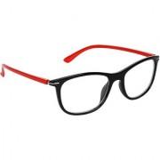 Zyaden Black Rectangle Spectacle Frame FRA-434