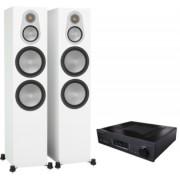 Pachete PROMO STEREO - Monitor Audio - Silver 500 + Cambridge Audio 851A Walnut