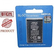 Genuine 1020 Mah 3.7V Li-Ion Bl-5C Battery For Nokia 1100 1110 1112 1200 1208 1600 1650 1108 1680 with 6 Month gauranty