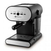 Ръчна експресо кафемашина Rohnson R 964, 1050 W, 15 bar налягане, специална цедка за плътен каймак, лесно почистване, черна