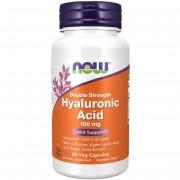 Now Foods Hyaluronic Acid Double Strength 100 mg 60 kapsułek