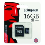 Micro SD Class 10 Kingston 16GB