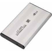 LipiWorld 1 GB External Hard Disk Drive with 1 GB Cloud Storage(Silver)