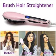 HQT Fast Hair Straightener Brush