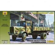 Modelul de plastic de camioane grele german Einheitskabine al doilea război mondial, L-4500