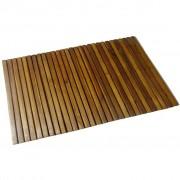 vidaXL Tapetes para casa de banho, madeira acácia, 80 x 50 cm