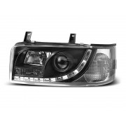 Přední světla, lampy VW T4 Transporter, Caravelle, Multivan 90-03 Daylight černé